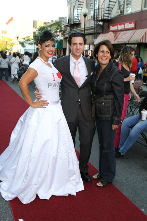 Perth Amboy Mayor Diaz at Robert Fiance Makeup Academy for Perth Amboy Fashion Show